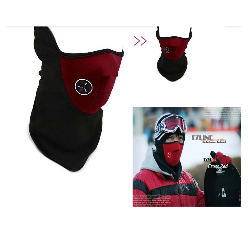 Best Qualitywindproof bike masks  Hat Winter Skiing skating Party Masks Ear Face Mask Motorcycle Bike face mask