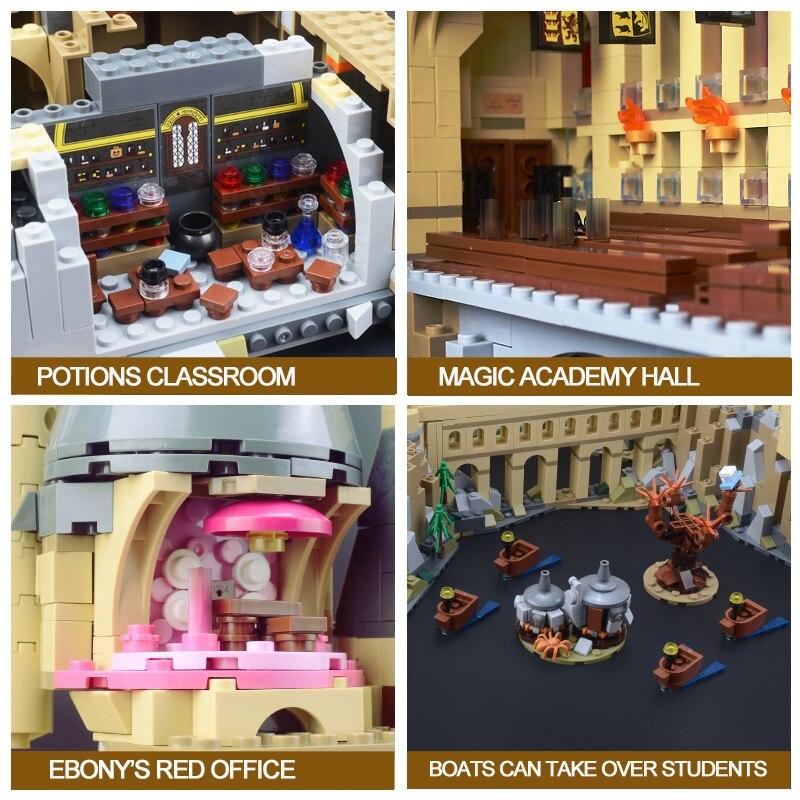 2018 Lepin 16060 Harry Potter Magique Poudlard Château Compatible Legoing 71043 blocs de construction Briques Enfants jouets éducatifs bricolage - 4