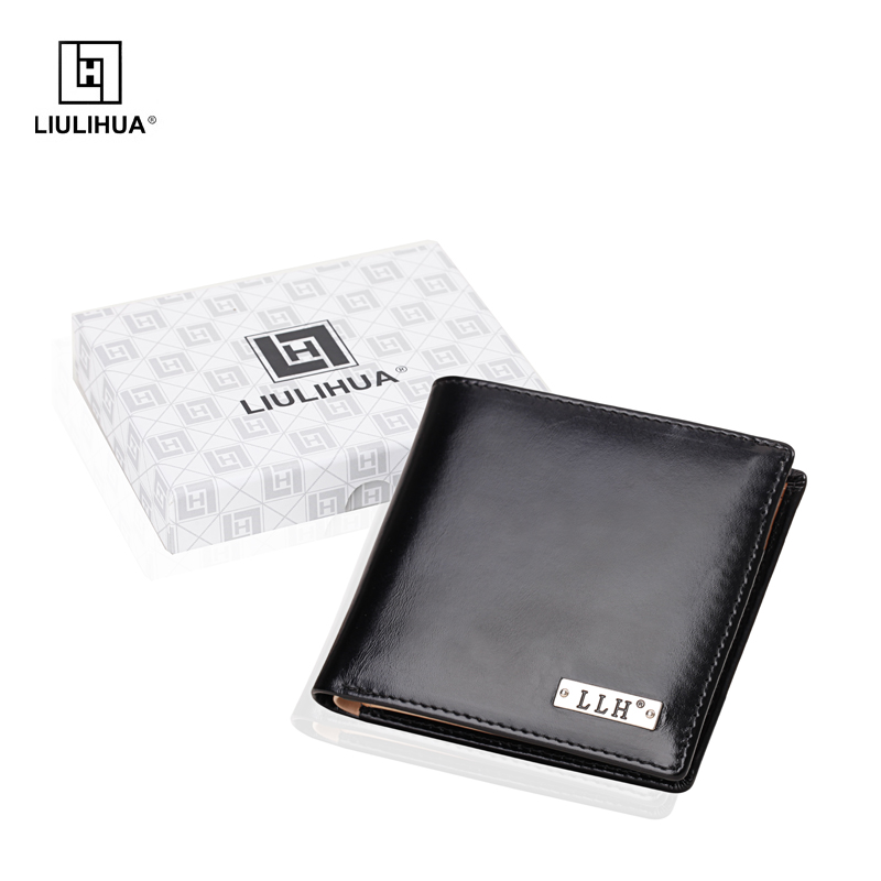 New 2017 Factory Brand genuine Leather Wallet big capacity men wallets Coin purse mens wallet male money purses Card Case