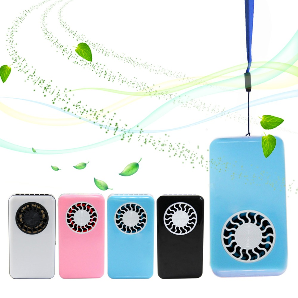 цена MEXI 3W Mini Air Conditioner Fan Portable USB Cooler Cooling Rechargeable Handheld Micro