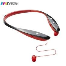 EPiCfeat Bluetooth для Беспроводной Спорт Наушники Наушники с Микрофоном Handfree Шейным Гарнитура для Android iOS телефон HB-900H