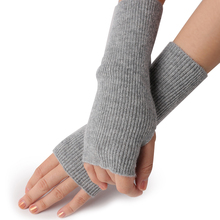 Pretty Stylish women Winter Hand Arm Crochet Knit cashmere Fingerless Glove Warm Solid Lady Knitting Short Cashmere Gloves Mitte hollow out crochet knit triangle fingerless arm warmers