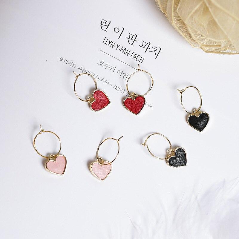 2017 Корейська Sweety Lovely Стиль Сережки - Модні прикраси - фото 5