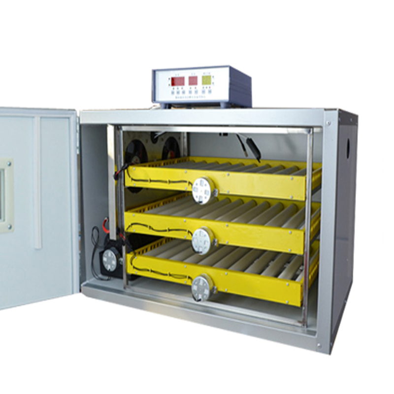 Small Fully Automatic Incubator Household Eggs 180/240 Eggs Hatching Machine Goose Duck Chicken Hatcher Duel/Sigle Motor