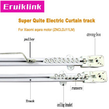 High Quality Automatic Electric Curtain Track for Smart Home,Super quite Curtain track for Xiaomi aqara/Dooya KT82/DT82 motor