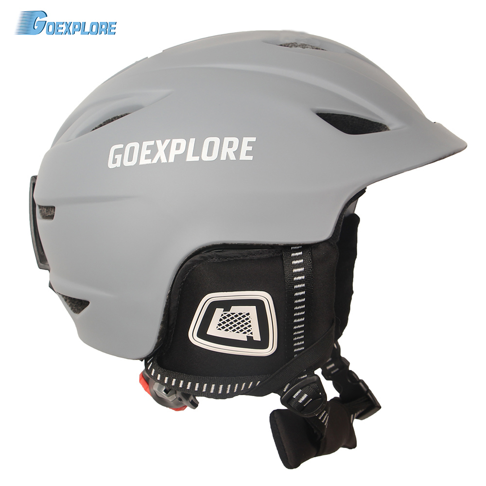 Sports & Entertainment Ski Helmets Adaptable Ski Helmet Men Women Professional Winter Outdoor Sports Helmet Warm Breathable Snowboard Ski Helmets Integrally-molded Helmet