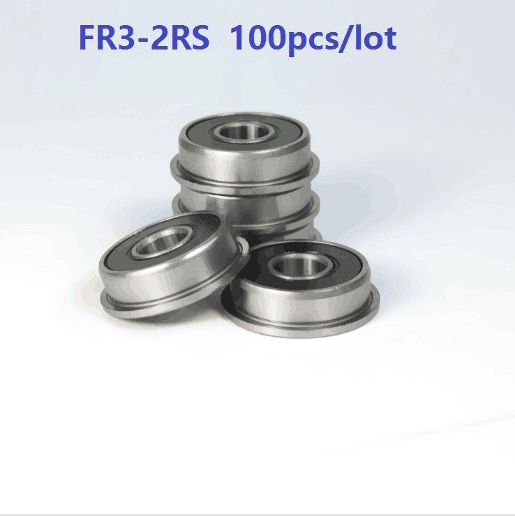 Rodamientos lineales blindados de goma de tipo m/ás largo 2