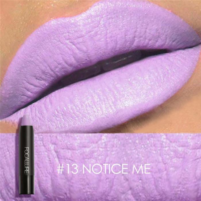 High Quality Focallure Women Matte Lipstick Pen Waterproof Long-lasting Cosmetic Nude Lady Lips Makeup Lipsticks well 20