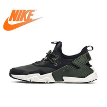 sale retailer 65491 be5aa Original Authentic NIKE Air Huarache Drift PRM Mens Running Shoes Sneakers  Outdoor Walking Jogging Sneakers Breathable AH7334