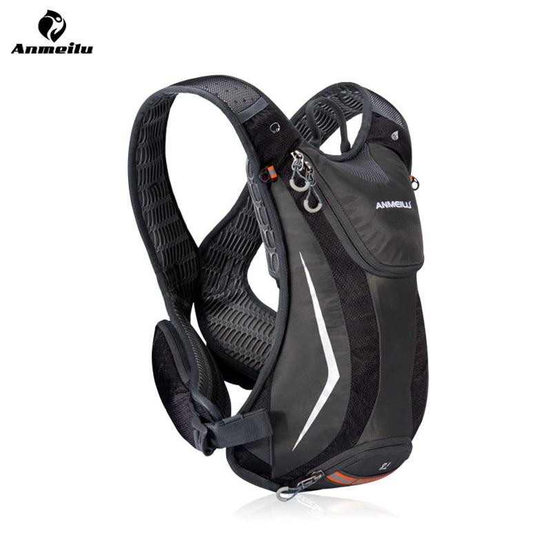 Anmeilu 5L Outdoor Sport Cycling Backpack Nylon Waterproof Ultralight Road  Bike Travel Bag Running Bicycle Backpack Packs