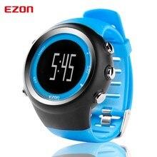 EZON Professionele GPS Correndo Calorie Contador de Fitness Esporte 50 m Waterdichte Voor Mannen Horloges Horloge Zwart Rood Blauw T031