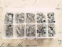 ( lỗ lớn hạt và quyến rũ) 100pcs/set kết hợp 10 phong cách cổ xưa đồ trang sức bạc quyến rũ hạt phát hiện và phụ kiện