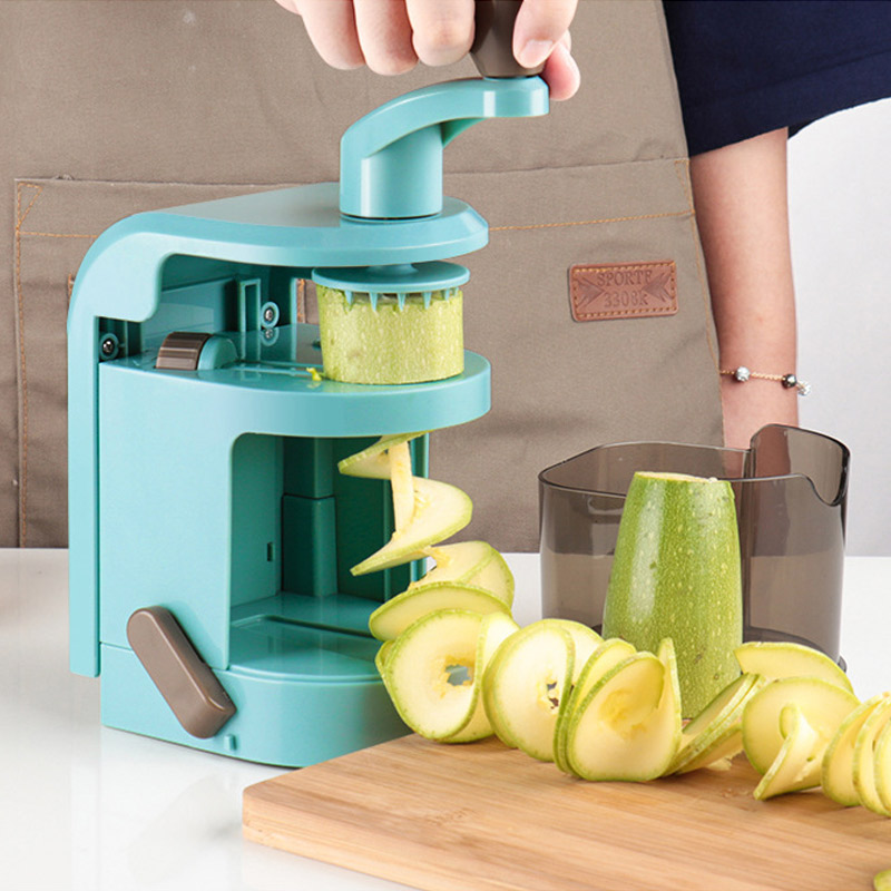 Vegetable Adjustable Blades Veggie Pasta & Spaghetti Salad Spiral Slicer Potato Zucchini Noodle Maker