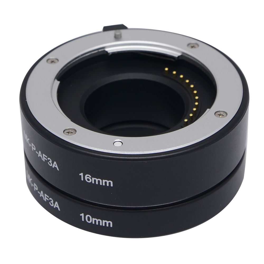 Meike Metal Auto Focus AF Automatic Macro Extension Tube for Panasonic & Olympus Micro 4/3 mount Camera E-M5 E-M10 GX7 G6 GM1 image