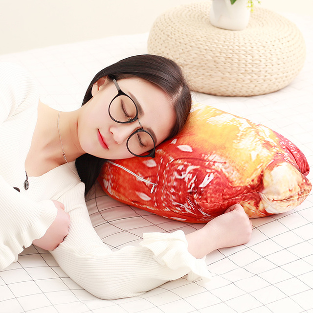 Pork Ribs Plush Pillow 1