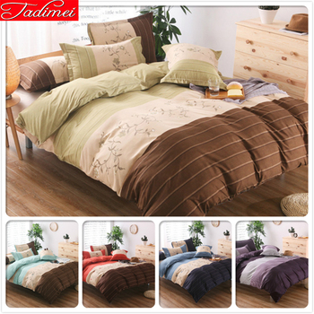 New Fashion Duvet Cover Pillowcase 3pcs Bedding Set Single Full Double Queen King Size Quilt Comforter Bed Linen 150x200 230x230