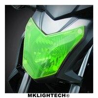 CBR 650F Motorbikes Parts For HONDA CBR650F CB 650F 2014 2017 Acrylic Headlight Protector Cover Screen Lens