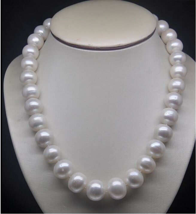 free shipping NEW NATURAL 20 11-12MM SOUTH SEA GENUINE WHITE PEARL NECKLACE  t a()free shipping NEW NATURAL 20 11-12MM SOUTH SEA GENUINE WHITE PEARL NECKLACE  t a()
