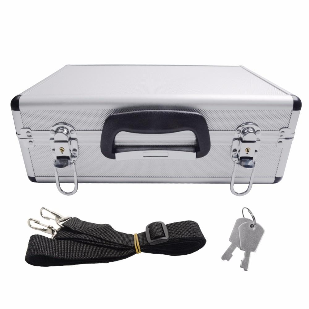 Aluminum Case With Neck Straps For Transmitter , Radio ,Walkera Radio JR Radio,HITEC,ESKY For Rc Toys