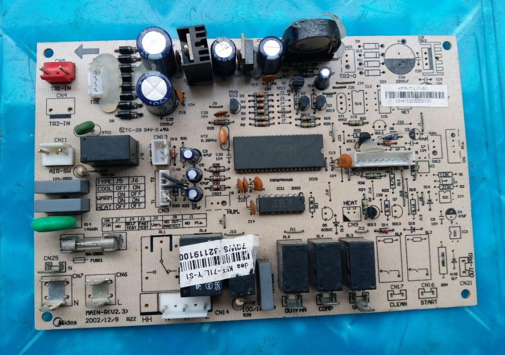 KFR-71L/Y-S1 MAIN-R (V2.3) Buon Funzionamento ProvatoKFR-71L/Y-S1 MAIN-R (V2.3) Buon Funzionamento Provato