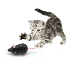 Yooap New Products 2019 Electronic Mouse Toy, As Seen on TV Cat Toys Interactive Pet Supplies, Lovely for -Black,White