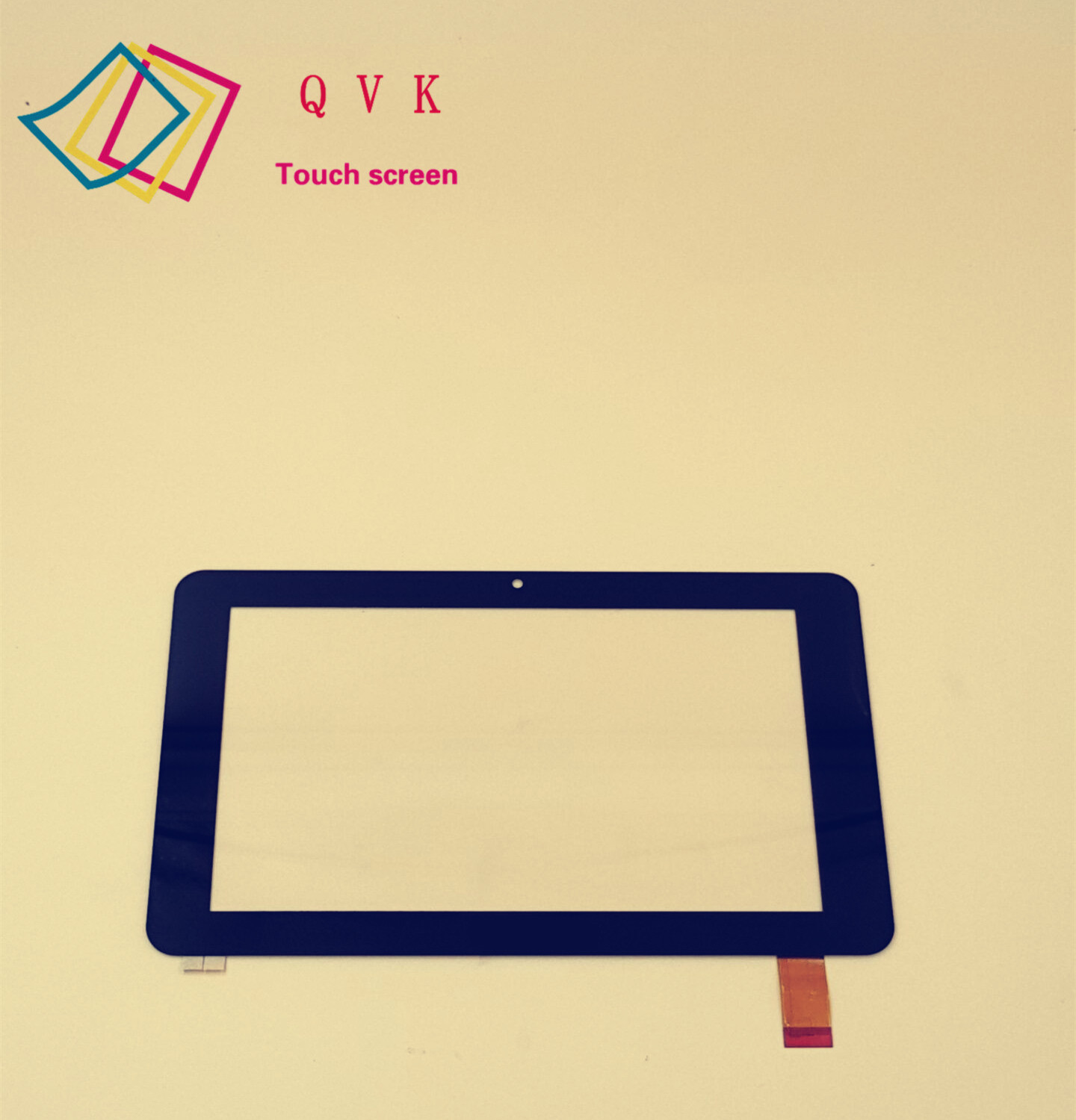Kurio 7inch tablet capacitive touch screen and external screen 20130610B noting size and color