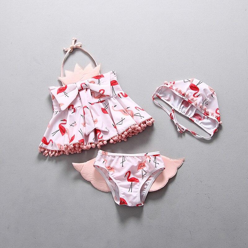 Clode for 0-3 Years Old Fashion Baby Girls Leopard Print One Piece Swimsuit Infant Onepiece Swimwear Bikini Tankini