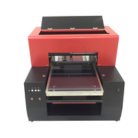 A3 size Textile Flatbed Printer for Cotton T Shirt Printer A3 dark light t shirt printing machine with RIP software