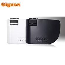 Gigxon-G8005B 2016 Producto mini proyector último teléfono móvil proyector proyectores de cine en casa dvd portátil para Uso En El Hogar
