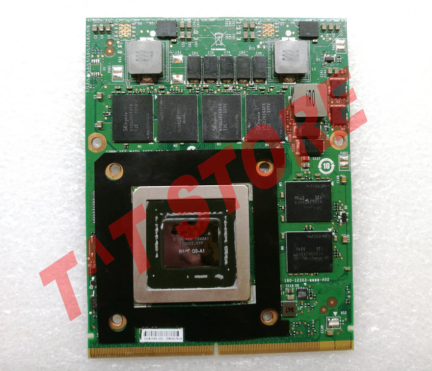 original <font><b>GTX</b></font> <font><b>770M</b></font> GTX770M MS-1W0B1 3G GDDR5 VGA graphics Video Card BOARD for GT60 GT70 GT780 CR660 GT683 N14E-GS-A1 image