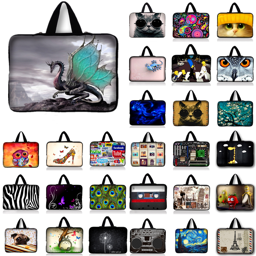 Laptop Carry Sleeve Bag Case For HP Dell Lenovo Asus Toshiba Acer Sony 9.7 10.1 11.6 13.3 14.4 15 15.6 17.3 inch Computer Bag