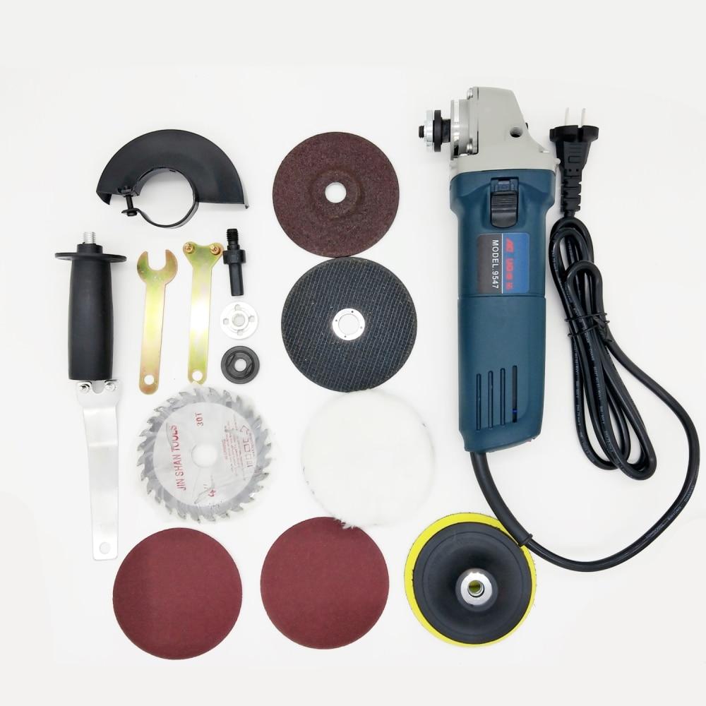 1020W 6 Speeds Electric Angle Grinder Polisher Grinding Angular Power Tool Polishing Cutting Tool