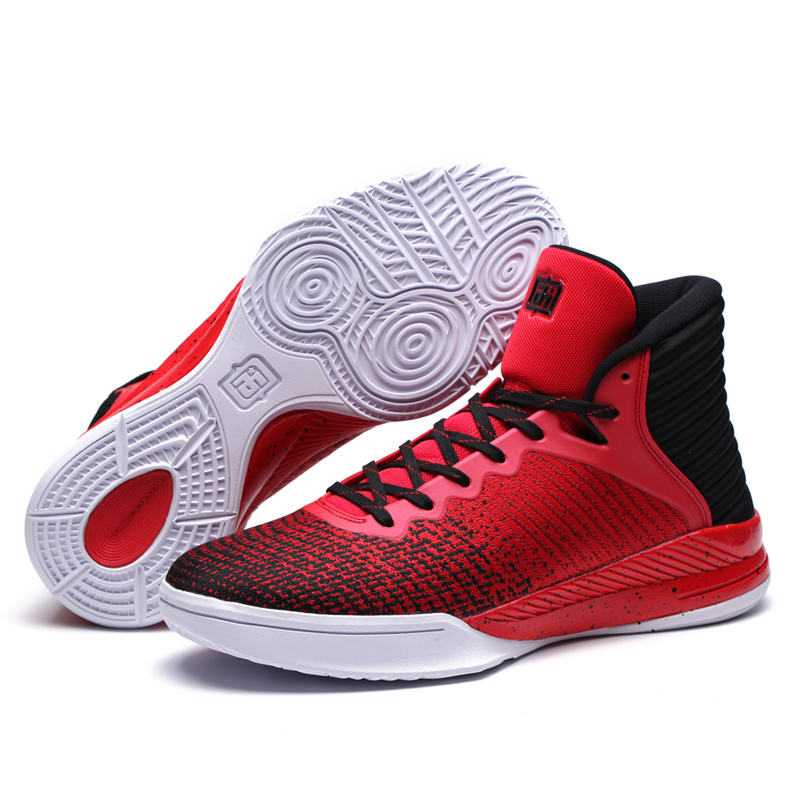 Sport Basketball Shoes Breathable Basketball Boots Basket femme de marque Brand Men Basketball Sneakers
