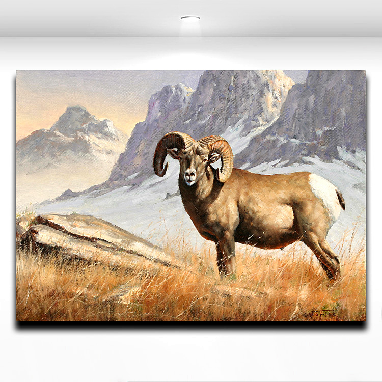 Aliexpress.com : Buy Antelope Animal Painting Modern