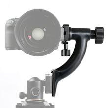 SK-GH04 Professional Heavy-duty fibra De Carbono gimbal cabeça — pequeno uma Arca-Swiss Quick-Release Placa para Canon Nikon DSLR Camera