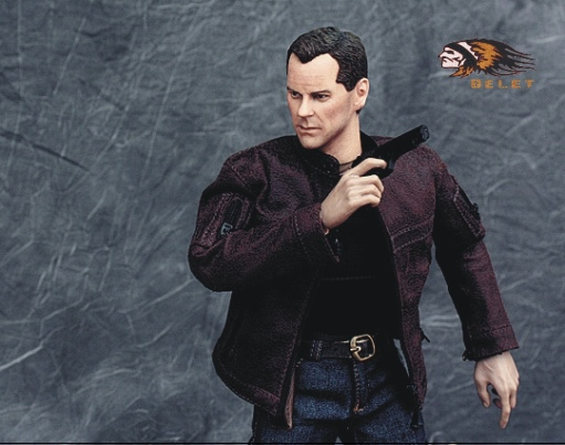 1/6 scale figure doll Jack Bauer Vanguard against terrorism Kiefer Sutherland in 24 Hours 12 Action figure doll Model Toys islam between jihad and terrorism