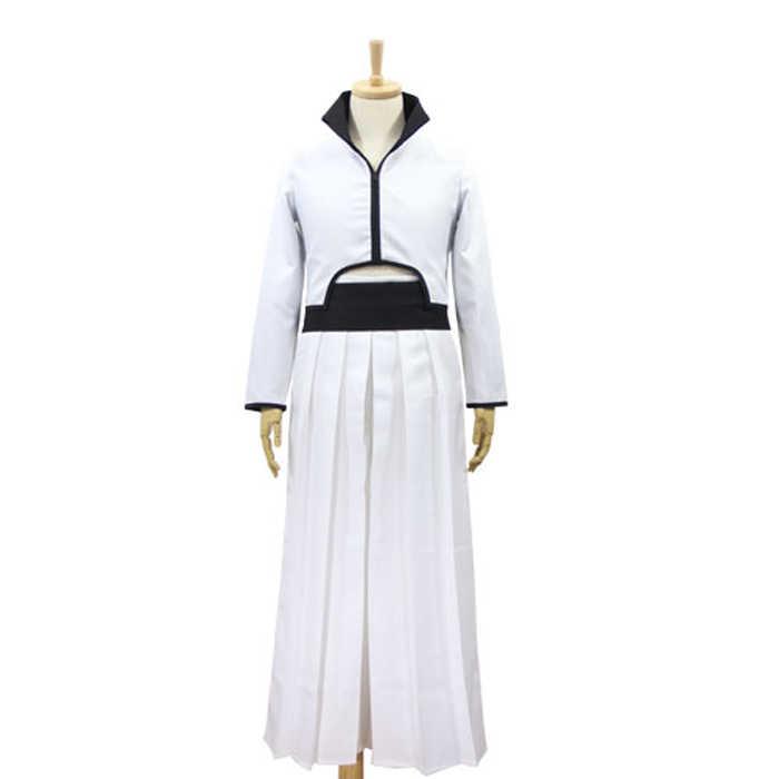 Аниме Bleach Grimmjow Jaggerjack Косплей Костюм Jeagerjaques полный комплект белое кимоно Кендо (куртка + брюки + ремень)