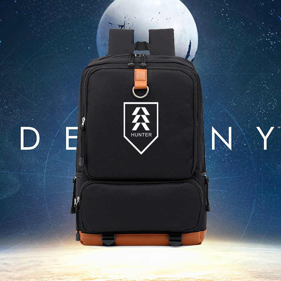 NEW contrast color nylon big backpack gift bag for game fans DESTINY TITAN HUNTER WARLOCK printing  backpacks NB195 lucky john croco spoon big game mission 24гр 004