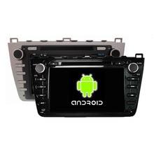 Quad Core 1024*600 Android 5.1.1 Fit Mazda 6 Mazda6 Ruiyi Ultra 2008 2009 2010 2011 2012 Car DVD Player GPS Radio Navigation