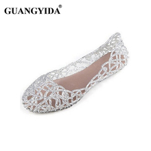New 2016 summer women sandals breathable shoes crystal jelly nest crystal sandals female flat sandal shoes woman