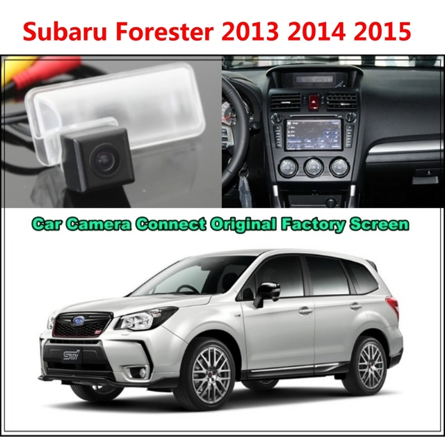 For Subaru Forester 2017 Car Camera Connected Original Screen Monitor And Rearview Backup