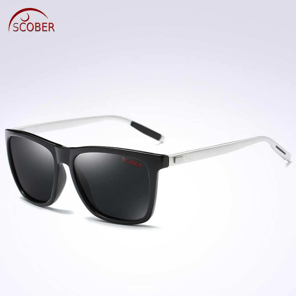 ... Retro Square Al-mg Leg men women polarized sun glasses polarized  sunglasses Custom Made Myopia ... 4d7a672bbc