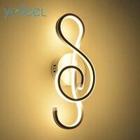 YGFEEL 22W LED Wall Lamp Modern Bedroom Beside Reading Wall Light Indoor Living Room Corridor