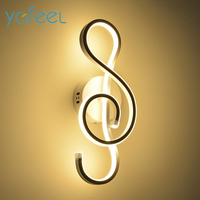 YGFEEL 22W LED Wall Lamp Modern Bedroom Beside Reading Wall Light Indoor Living Room Corridor