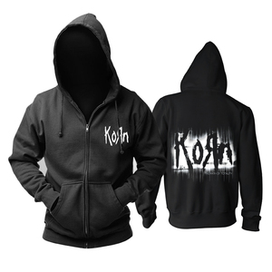 Image 1 - Bloodhoof Korn Nu Metal  heavy metal Mens black hoodie Asian Size