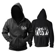 Bloodhoof Rock band stil Korn Nu Metall schwere metall männer schwarz hoodie Asiatische Größe