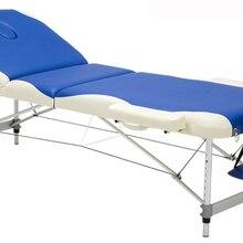 195 см* 70 с ножкой из алюминиевого сплава PVC Регулируемый массажный стол спа тату мебель для красоты портативный складной массажный салон кровать с сумкой