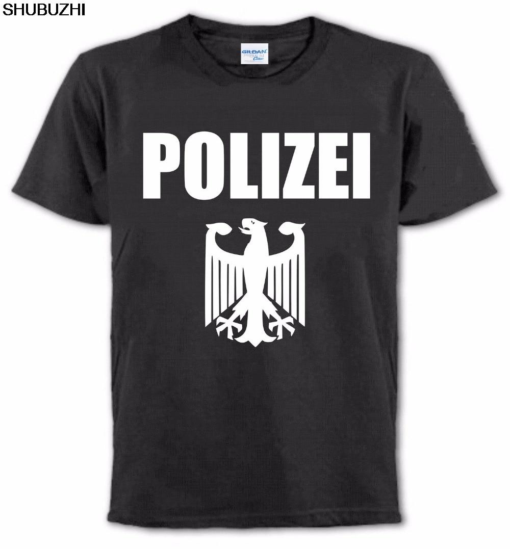Männer Männer T Shirt Erstellen Sie Ihre Eigenen T-shirt Polizei T-shirt Deutschland Polizei Offizier Toutes Les Tailles T Hemd Sbz1334 Der Preis Bleibt Stabil Schmuck & Zubehör
