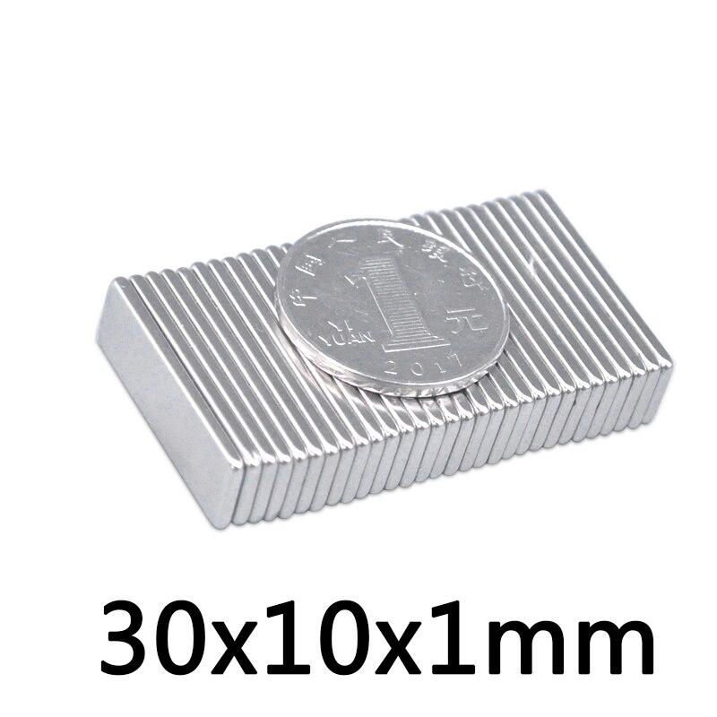 40x self-adhesive neodymium magnets N52 rectangle 20x10x1 mm N52 magnets self-adhesive extra high adhesive force Magnetastico Strong adhesive magnets with 3M adhesive tape