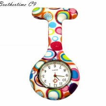 Attractive New Nurses Doctor Fob Watch Brooches Silicone Tunic Batteries Medical Nurse Watch